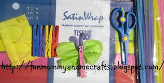 Butterfly Clothes pin supplies
