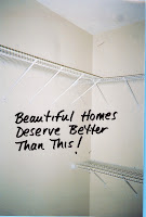 You deserve better than tacky, out of date wire shelving