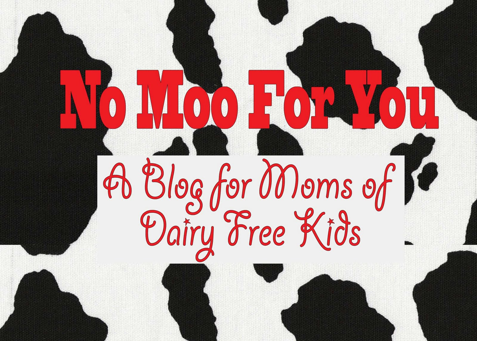 No Moo For You