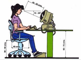 Ergonomia educacion fisica for Fisica con ordenador