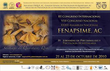 CONGRESO INTERNACIOAL EN QUERETARO.