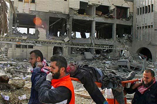 ISRAEL LES DESEA UN FELIZ 2009 AL MUNDO ENTERO Y A FALTA DE PIROTECNIA, DISPARA MISILES QUIRURGICOS