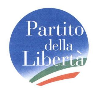 il nuovo logo del partito della libertà