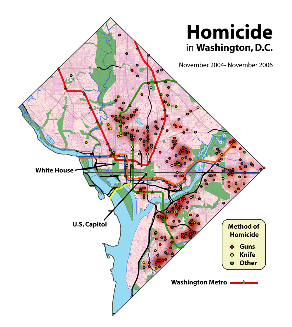 snurps dc homicides map 2004 2006