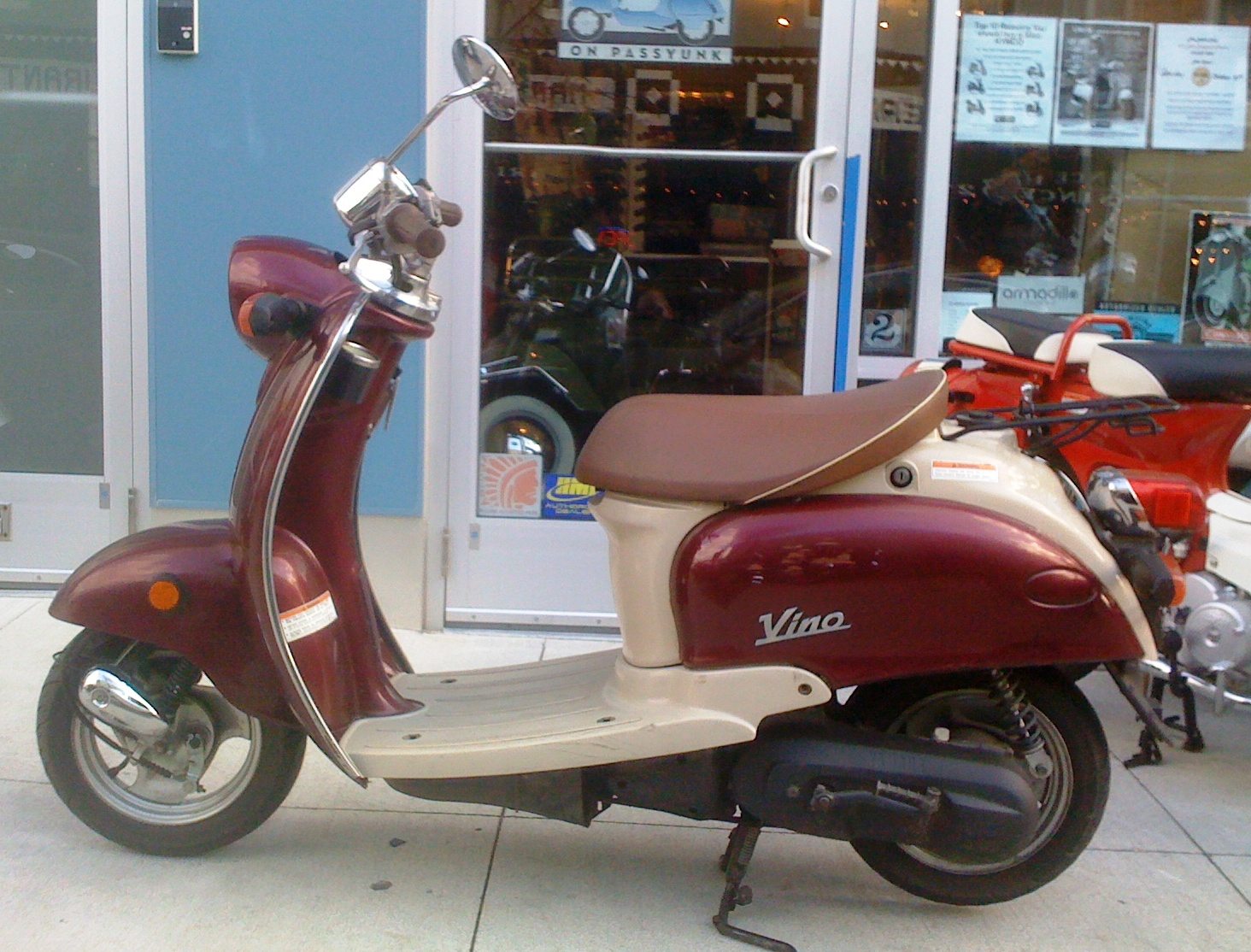 philadelphia used scooters 2001 yamaha vino 50 economy special. Black Bedroom Furniture Sets. Home Design Ideas