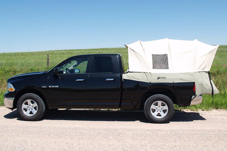 Kodiak Canvas 8u0027 Truck Bed Tent #7218 & Family Tent Camping : NEW! Kodiak Canvas 8u0027 Truck Bed Tent #7218