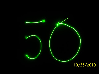 50 years of laser celebrations: 30th Oct 2010