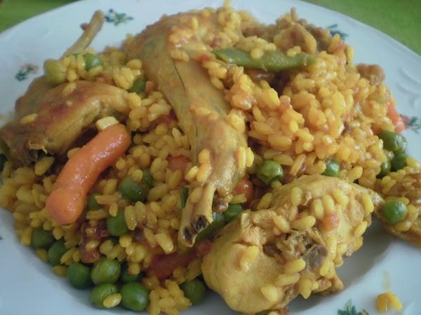 Arroz con conejo y verduras cocinar en casa es for Cocinar 6 tipos de arroz