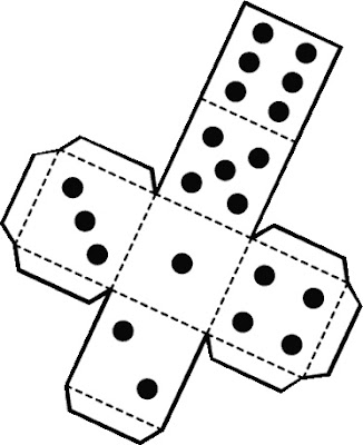 Decisive image throughout printable dice template