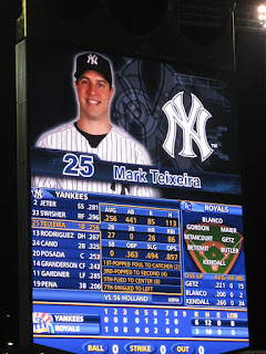 Kauffman stadium scoreboard
