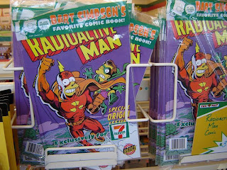 Simpsons Movie 7-Eleven Kwik E Mart takeover - Radioactive Man
