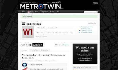 BA Metrotwin personal profile page