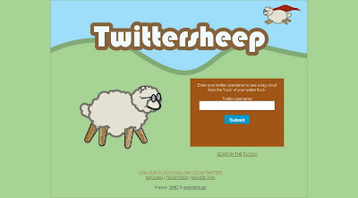 Twittersheep homepage