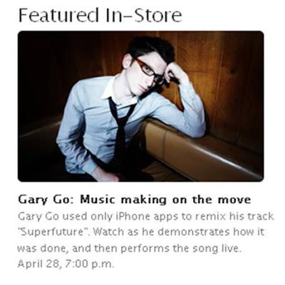 Gary Go Apple Store Regent St