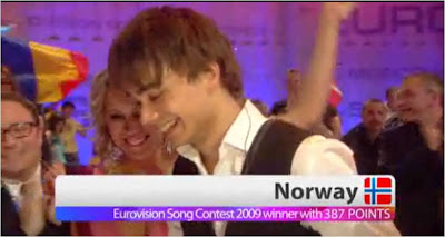 Eurovision 2009 Norway win