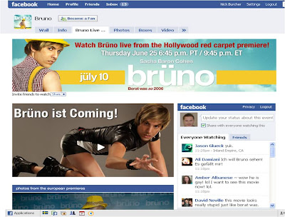 Bruno Facebook Fan Page