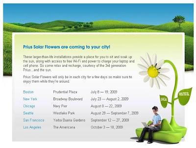 Prius Solar Flowers Facebook