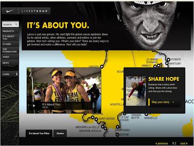 Lance Armstrong Tour de France Live Strong