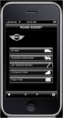 Mini Road Assist iPhone app