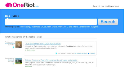 One Riot homepage