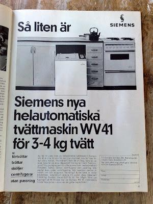 Siemens Kok Kitchen ad 1967