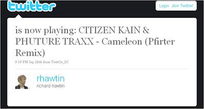 Richie Hawtin Twitter App