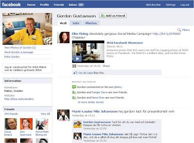 Gordon Gustavsson IKEA Malmo Facebook profile