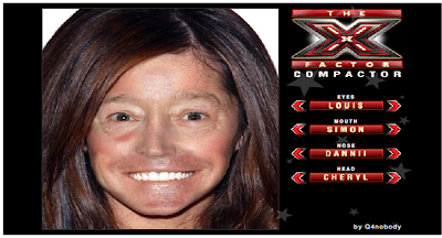 x factor compactor judges face mash up