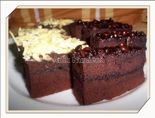 Resep Cara Membuat Brownies Panggang