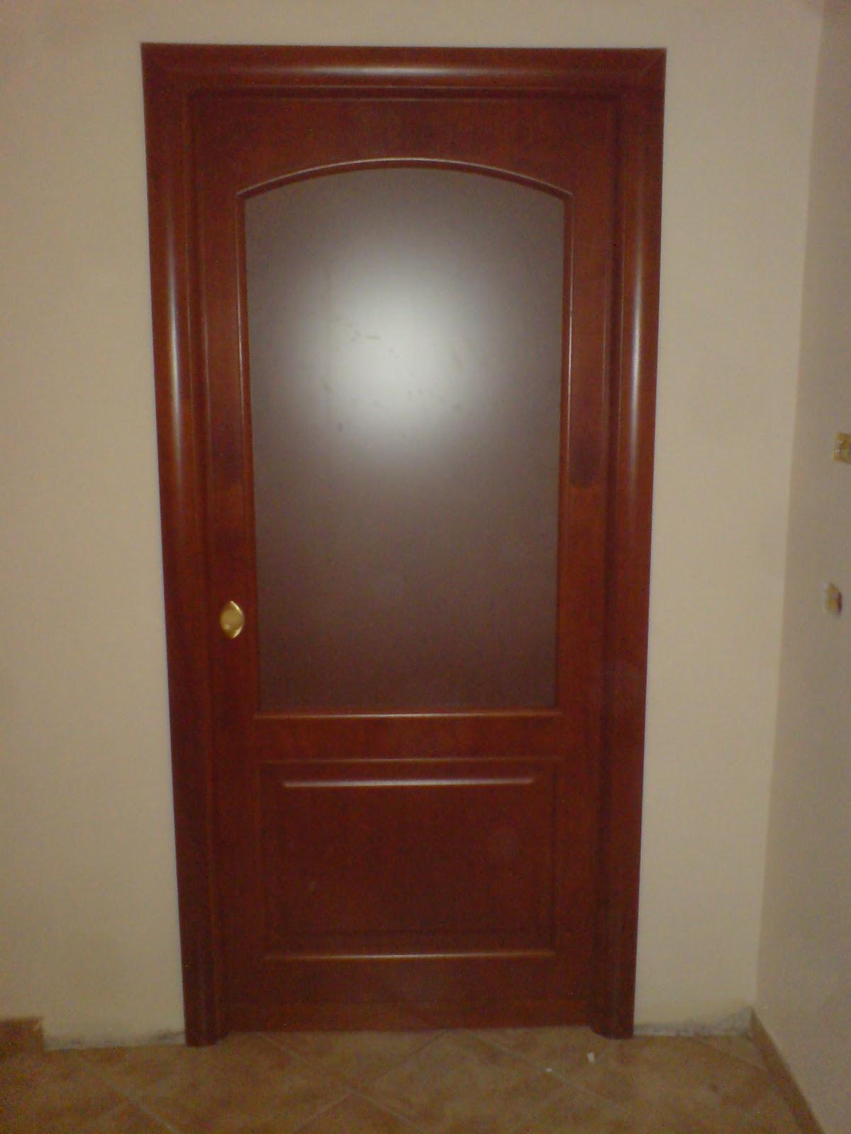 Ilvecchioartigiano porte in noce tanganica color ciliegio - Porte color ciliegio ...