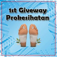 1st Giveaway Dari Prokesihatan
