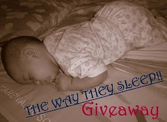 ~~The Way They Sleep Giveaway~~