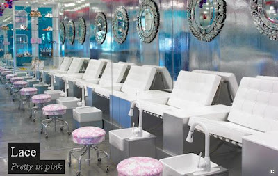 Nail Salon Decorating Ideas