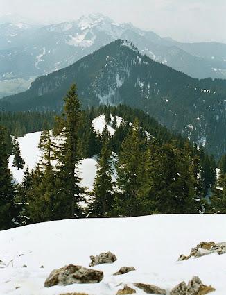 8 Bad Wiessee - Alpenblick vom Gipfel des Fockenstein