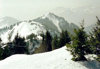 Hochries - Blick über Karkopf und Feichteck, Chiemgauer Alpen
