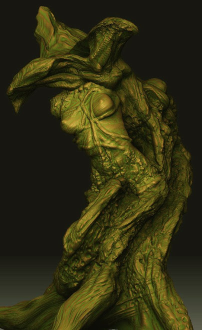Zbrush Speed Sculpt