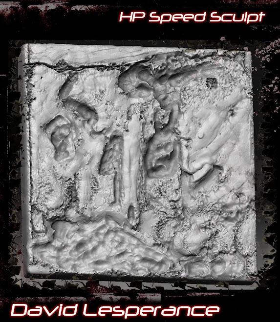 Tile Piece-Zbrush