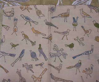 Robert Allen fabric For the Birds