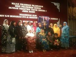 Penganjur bergambar Kenangan bersama YAM Tengku Hajah Shariah Binti Tuanku Abdul Rahman
