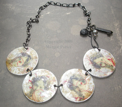 Victorian Photograph Necklace