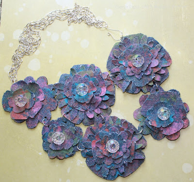 Delicious Denim Necklace Copyright Margot Potter for Jo-Ann Fabrics