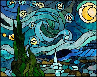 Boehm Stained Glass Blog Next Project Quot Starry Night Quot By
