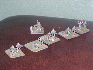 WW2 US & Japanese Pacific Wargame Units by Dave Hall (USA)