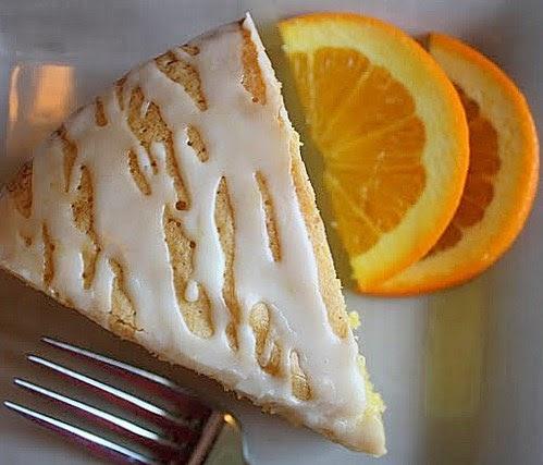 ... to Winter: Orange Polenta Cake with Sweet Citrus Glaze