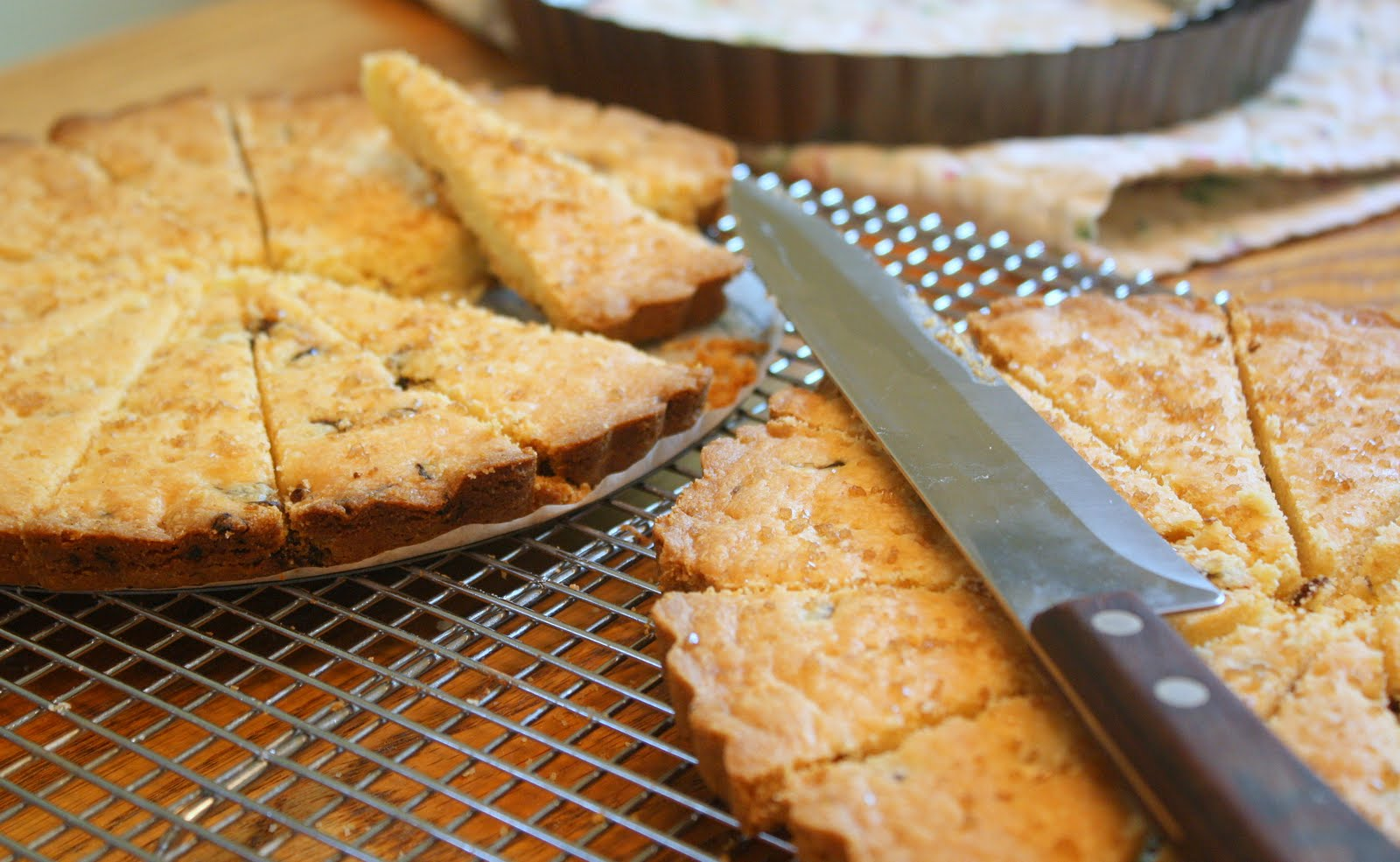 ... Cookie Stands Alone: Cornmeal Shortbread with Sweet Dried Cherries