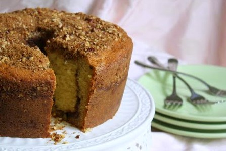 Janes Sweets Baking Journal Cinnamon Sour Cream Coffee Cake