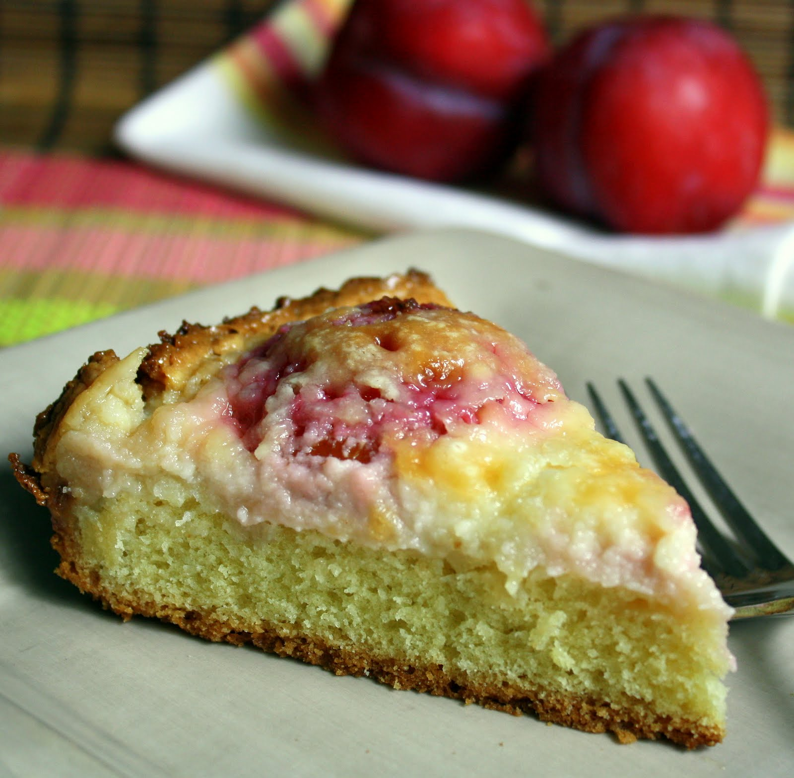Jane\'s Sweets & Baking Journal: Red-Plum Brunch Cake with Cream ...