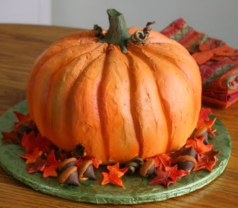 How To Decorate A Fake Cake For Thanksgiving