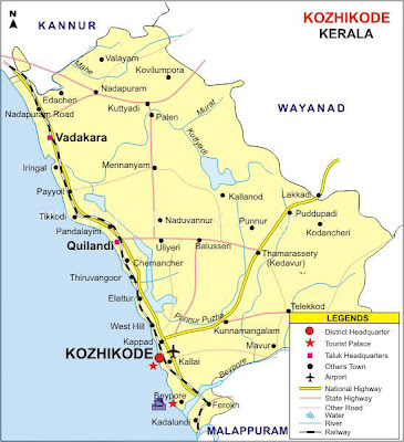 Indian News Reader: Kerala Tourism - Kozhikode on climate map, date time map, writing system map, western europe map, elevation map, regional map, great plains map, zip code map, usa map, time zone map, human characteristics map, australia and surrounding area map, mogadishu on african map, reigon map, hemisphere map, vegetation map, tricare map, uk map, capital map, absolute location map,