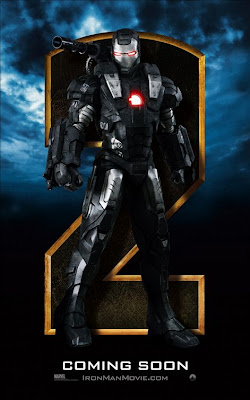 iron man 2 movie poster, war machine